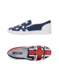 Moschino | Red Low-tops & Trainers for Men | Lyst