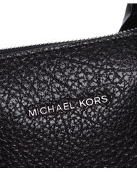 MICHAEL Michael Kors - Black Campbell Satchel Bag - Lyst