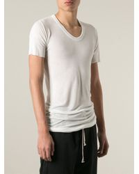 Rick Owens - White Long T-Shirt for Men - Lyst