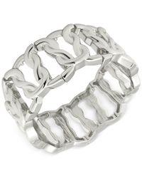 T Tahari | Metallic Link Stretch Bracelet | Lyst