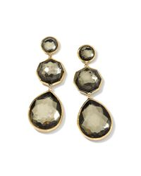 Ippolita | Metallic 18k Crazy 8's Pyrite Doublet Earrings | Lyst