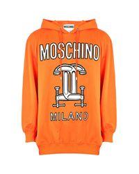 Moschino - Orange Women's Sweater - Lyst