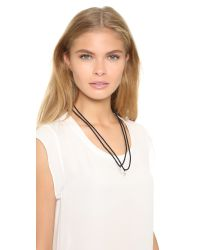 Venessa Arizaga | Black Home Girls Friendship Necklace Set | Lyst