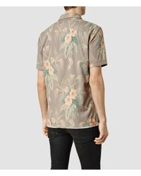 AllSaints | Multicolor Mawsim Ss Shirt for Men | Lyst