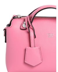Fendi - By The Way Mini Pink Cross-body Bag - Lyst