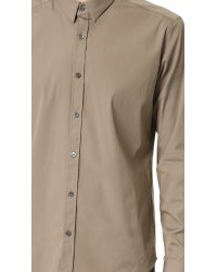 Theory - Natural Zack Ostend Shirt for Men - Lyst