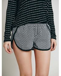 Free People - Gray Boys Who Like Girls Boxer - Lyst