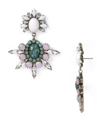 DANNIJO - Pink Mika Earrings - Lyst