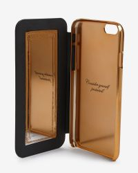 Ted Baker - Black Mirrored Iphone 6 Case for Men - Lyst