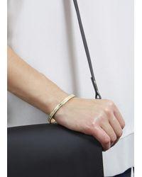 Marc By Marc Jacobs | Metallic Cream Enamel Bracelet | Lyst