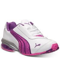 PUMA - Pink Women'S Cell Jago 8 Running Sneakers From Finish Line - Lyst