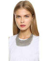 Adia Kibur - Metallic Kennedy Necklace - Lyst