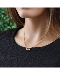 Irene Neuwirth - Pink Limited Edition Fire Opal Necklace - Lyst