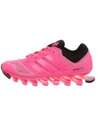 Adidas | Pink Springblade Drive Mesh Low-Top Sneakers | Lyst