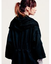 Free People - Black At The Seams Slouchy Jacket - Lyst