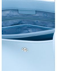 404418417727 Lyst - Tory Burch Small  York  Buckle Tote in Blue