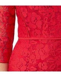 Hobbs - Jade Embriodered Dress - Lyst