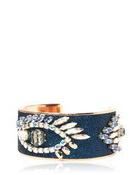 Bijoux De Famille - Blue Magic Eye Cuff Bracelet - Lyst
