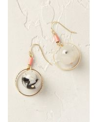 Anthropologie | Gray Marbled Quartz Drops | Lyst