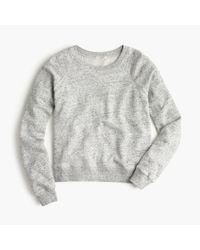 J.Crew | Gray Classic Crewneck Sweatshirt | Lyst