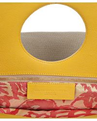 Balenciaga - Natural Canvas and Yellow Leather Edition Ottoman Dupionne Tote - Lyst