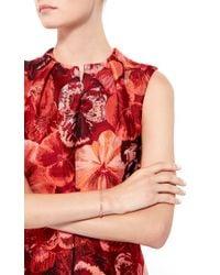 Joelle Jewellery - Metallic 18K Pink Gold Narrow Lace Bangle - Lyst