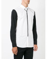 Neil Barrett - Black Tie Print Shirt for Men - Lyst