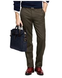 Brooks Brothers | Green Fitzgerald Fit Whipcord Trousers for Men | Lyst