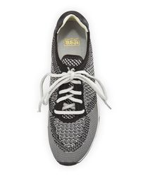 Ash - Gray Lucky Knit Lace-up Sneaker - Lyst