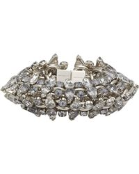 Givenchy | Metallic Strass Crystal Bracelet | Lyst