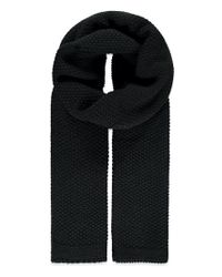 Forever 21 - Black Seed Knit Scarf You've Been Added To The Waitlist - Lyst