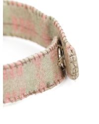 Dosa   Gray 'watts Towers' Embellished Bracelet   Lyst