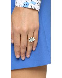 Holly Dyment - Metallic Enamel Evil Eye Ring - Lyst