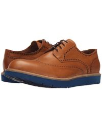 Massimo Matteo - Natural Wing Tip Blue Sole for Men - Lyst