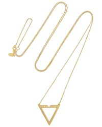 Maria Black | Metallic Vixen Goldplated Necklace | Lyst