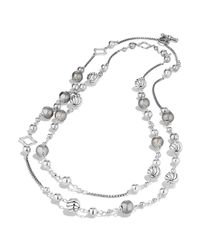 David Yurman | Metallic Dy Elements Chain Necklace | Lyst