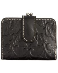 Patricia Nash | Black Tooled Iberia Wallet | Lyst