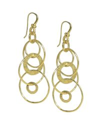 Ippolita | Metallic Glamazon Multi-link Jet-set Earrings | Lyst