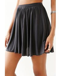 Silence + Noise - Black Edith Skirt - Lyst