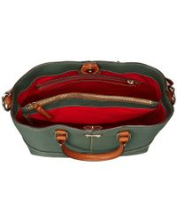 Dooney & Bourke - Green Pebble Leather Chelsea Shopper - Lyst