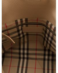 Burberry Brit - Natural Medium Calf-Leather Tote - Lyst
