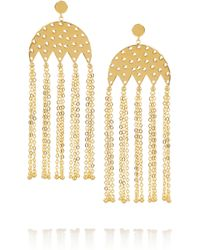 Arme De L'Amour | Metallic Gold-plated Earrings | Lyst