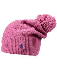 Polo Ralph Lauren - Pink Hat - Lyst
