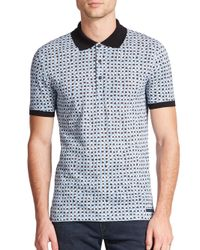 Burberry Brit | White Fellmore Cotton Polo for Men | Lyst