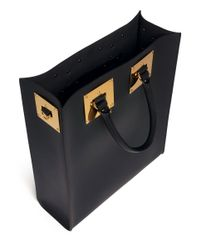 Sophie Hulme - Multicolor Rectangle Leather Box Tote - Lyst