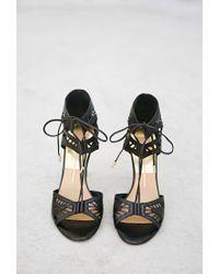 Forever 21 Black Dolce Vita Henlie Sandals