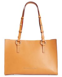 Dooney & Bourke | Orange Montecito Janette Shopper | Lyst