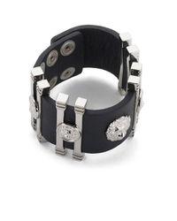 Versus | Black Women's Cuff Bracelet | Lyst