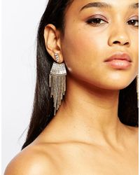 ALDO - Metallic Arodda Statement Earrings - Lyst