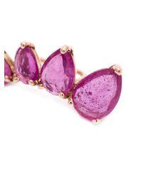 Jacquie Aiche - Pink Ruby Ear Cuff - Lyst